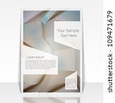 abstract flyer or cover design  ... | Shutterstock .eps vector #109471679