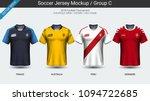 football players uniform ...   Shutterstock .eps vector #1094722685