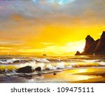 Oil Painting On Canvas  ...