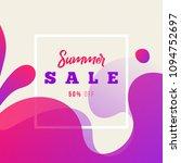 creative dynamic fluid banner.... | Shutterstock .eps vector #1094752697
