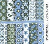 set of abstract vector paper... | Shutterstock .eps vector #1094766485