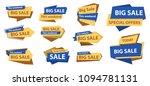 big sale banners   Shutterstock .eps vector #1094781131