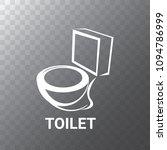 vector toilet symbol. toilet...   Shutterstock .eps vector #1094786999