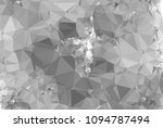 low poly mosaic grayscale... | Shutterstock . vector #1094787494