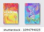 set paintings with marbling....   Shutterstock .eps vector #1094794025