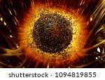3d rendering of digital... | Shutterstock . vector #1094819855