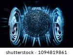 3d rendering of digital... | Shutterstock . vector #1094819861