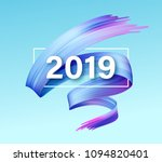 2019 new year of a colorful... | Shutterstock .eps vector #1094820401