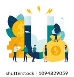 vector illustration  the... | Shutterstock .eps vector #1094829059