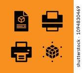print filled set of vector... | Shutterstock .eps vector #1094830469