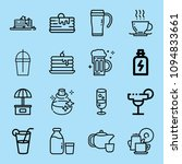 outline food icon set such as... | Shutterstock .eps vector #1094833661