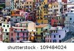 italian village  cinque terre...   Shutterstock . vector #109484024