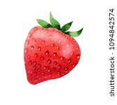 red strawberries healthy food... | Shutterstock . vector #1094842574