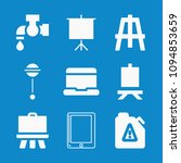 set of 9 tool filled icons such ... | Shutterstock .eps vector #1094853659