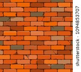 brown brick wall background in... | Shutterstock .eps vector #1094853707