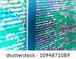 programing workflow abstract... | Shutterstock . vector #1094871089