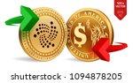 iota to dollar currency... | Shutterstock .eps vector #1094878205