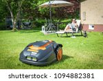 Automatic Lawnmower In Modern...