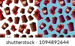 coffee ripple cups with red... | Shutterstock .eps vector #1094892644