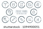 zodiac symbols vector set ... | Shutterstock .eps vector #1094900051
