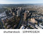 aerial view of los angeles... | Shutterstock . vector #1094901824