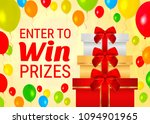celebration win banner with... | Shutterstock .eps vector #1094901965