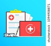 health insurance  healthcare.... | Shutterstock .eps vector #1094908871