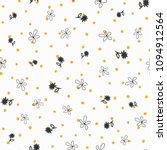 repeated irregular polka dot... | Shutterstock .eps vector #1094912564