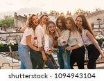 girls party. beautiful women... | Shutterstock . vector #1094943104