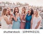 girls party. beautiful women... | Shutterstock . vector #1094943131