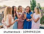 girls party. beautiful women... | Shutterstock . vector #1094943134