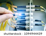 electrician is connecting the... | Shutterstock . vector #1094944439