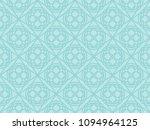seamless ornate round shape... | Shutterstock .eps vector #1094964125