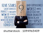 customer experience concept ... | Shutterstock . vector #1094965409