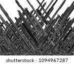futuristic skew megalopolis... | Shutterstock .eps vector #1094967287