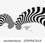 black and white design. pattern ... | Shutterstock .eps vector #1094967614