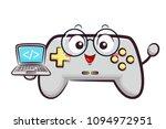 illustration of a game... | Shutterstock .eps vector #1094972951