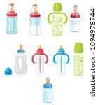 baby bottle  vector illustration | Shutterstock .eps vector #1094978744