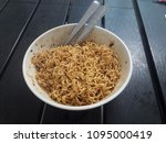 mama fried thai mama noodle... | Shutterstock . vector #1095000419
