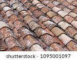 close up of old and weathered... | Shutterstock . vector #1095001097
