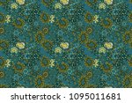abstract motif background.... | Shutterstock . vector #1095011681