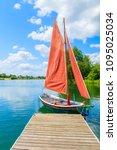 Small Traditional Sailing Boat...