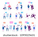 business people character set.... | Shutterstock .eps vector #1095025631