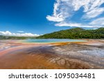 hot thermal spring grand... | Shutterstock . vector #1095034481