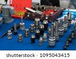 high precision drilling holder  ... | Shutterstock . vector #1095043415