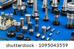high precision drilling holder  ... | Shutterstock . vector #1095043559