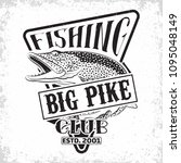 fishing club vintage logo... | Shutterstock .eps vector #1095048149