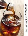 Постер, плакат: Refreshing Brown Soda with