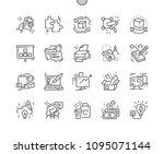branding well crafted pixel... | Shutterstock .eps vector #1095071144
