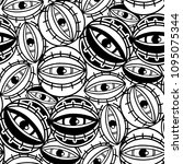 graphic seamless pattern of all ...   Shutterstock .eps vector #1095075344